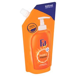 Fa tekuté mýdlo náhradní náplň Hygiene & Fresh Orange Scent 500ml