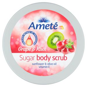 Ameté Cukrový tělový scrub Grape & Kiwi 250g