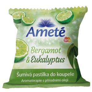 Ameté Šumivá pastilka do koupele 40g - mix variant
