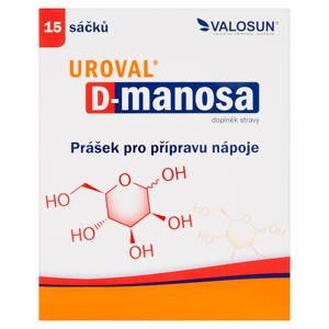 Valosun Uroval D-manosa doplněk stravy 15 sáčků 60g
