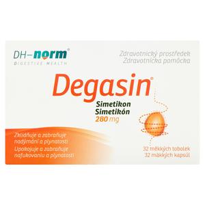 Degasin Simetikon 280 mg 32 tobolek 13,4g