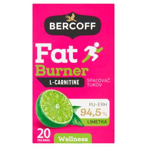 Bercoff Wellness Spalovač tuků Pu-Erh s příchutí limetky 20 x 1,5g