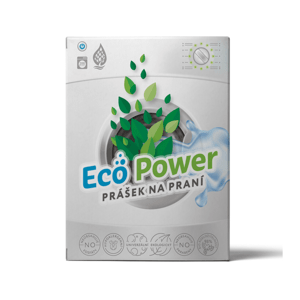 Eco-power XL: Bio-univerzální deskový prášek 200 praní