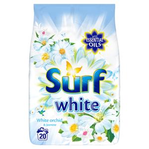 Surf White orchid prací prášek na bílé prádlo 20 dávek