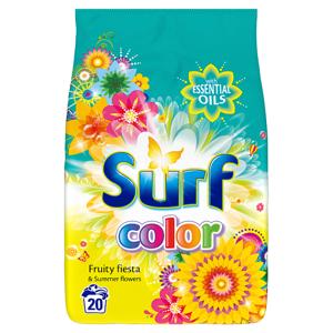 Surf Color fruity fiesta prací prášek na barevné prádlo 20 dávek
