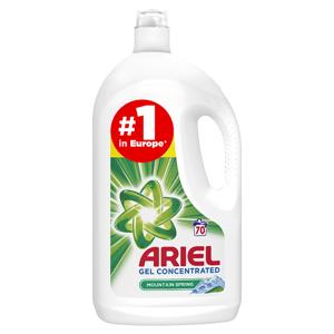 Ariel Mountain Spring Tekutý Prací Prostředek 3.85l, 70 Praní