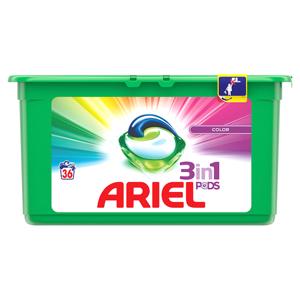 Ariel Color Kapsle Na Praní Prádla 3v1 36Praní