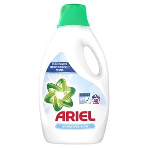 Ariel Sensitive Tekutý Prací Prostředek 2.64l, 48 Praní