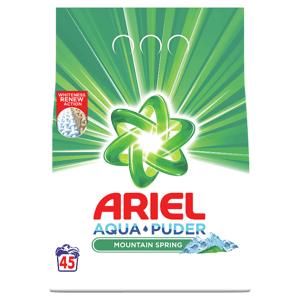 Ariel Prášek Mountain Spring 3.375KG 45 Praní