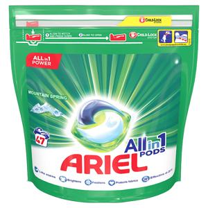 Ariel Allin1 Pods Mountain Spring Kapsle Na Praní 47 Praní