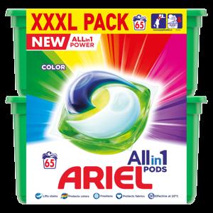 Ariel Allin1 Pods Color Kapsle Na Praní 65 Praní