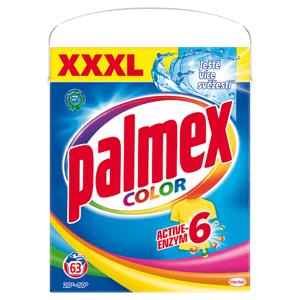 Palmex Color Active-Enzym 6 prací prášek 63 praní 4,095kg