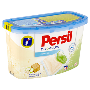 Persil Duo-Caps Sensitive koncentrovaný předdávkovaný prací prostředek 14 praní 350g