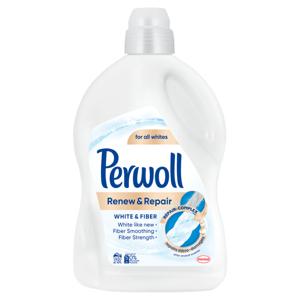 PERWOLL speciální prací gel Renew & Repair White 45 praní, 2700ml