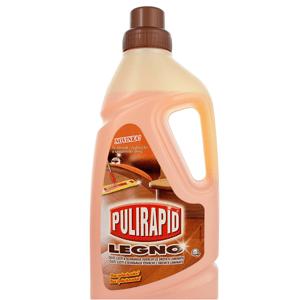Pulirapid LEGNO čistič a péče o dřevěné podlahy 1000 ml