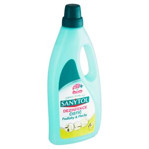 Sanytol Dezinfekce čistič podlahy & plochy citrón & olivové lístky 1l