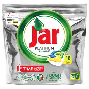 Jar Platinum Kapsle Do Automatické Myčky Nádobí Lemon 18 Ks