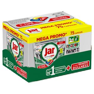 Jar Platinum Plus Lemon Kapsle Do Automatické Myčky Nádobí, 75 ks