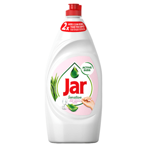 Jar Sensitive Aloe Vera&Pink Jasmin Tekutý Prostředek Na Nádobí 900ml