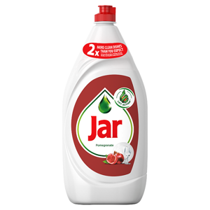 Jar Clean & Fresh Pomegranate Na Nádobí, Složení Pro Zářivě Čisté Nádobí 1,35 l