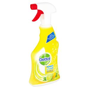 Dettol Power & Fresh antibakteriální víceúčelový sprej citron & limeta 500ml