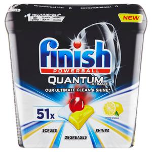 Finish Quantum Ultimate Lemon Sparkle kapsle do myčky nádobí 51 ks 637,5g
