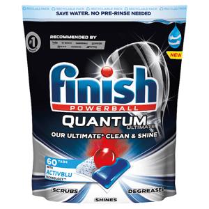 Finish Quantum Ultimate kapsle do myčky nádobí 60 ks 750g