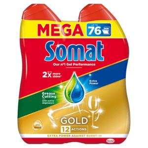 Somat Gold Gel Anti-Grease do myčky 2 x 684ml