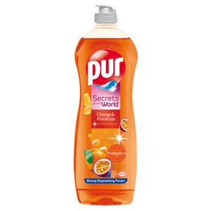 Pur Secrets of the World Orange & Maracuja přípravek na ruční mytí nádobí 750ml