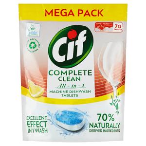 CifAllin1LemonTabletydomyčkynádobí70 ks