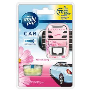 Ambi Pur Car Flowers & Spring Osvěžovač V Startovací Sadě 7ml