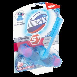 Domestos Power 5+ Blue Water Pink WC blok 53g