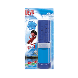 Dr.Devil 3in1 WC POINT BLOCK 45ml Polar Aqua