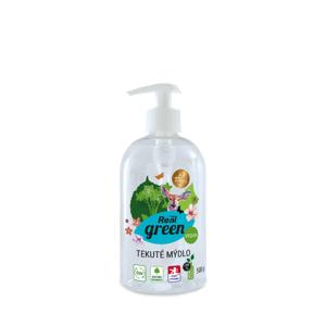 Real Green tekuté mýdlo 500g pumpa