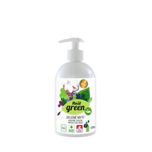Real Green zelené mytí 500g pumpa