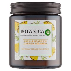 Botanica by Air Wick Svíčka svěží ananas a tuniský rozmarýn 205g