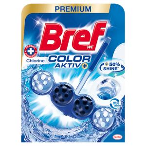 Bref Color Aktiv Chlorine tuhý WC blok 50g