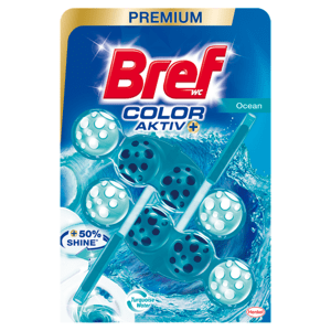 Bref Color Aktiv Ocean tuhý WC blok 2 x 50g