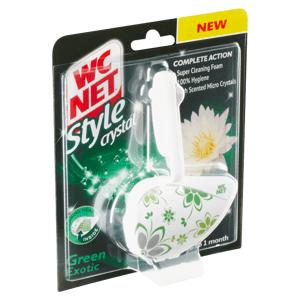 WC Net Style Crystal Green Exotic WC čistič 36,5g