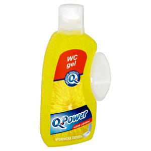 Q-Power WC gel vůně citrónu 400ml