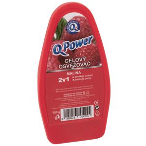 Q-Power Gelový osvěžovač Malina 150g