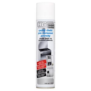 HG Rychlý čistič pro nerezové povrchy 300ml