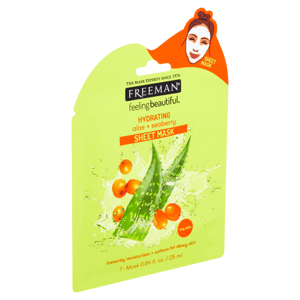 Freeman Hydratační látková maska s aloe a rakytníkem 25ml