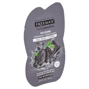 Freeman Čisticí pleťová maska dřevěné uhlí & černý cukr 15ml