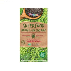 7th Heaven Superfood jílová maska matcha & chia 10g
