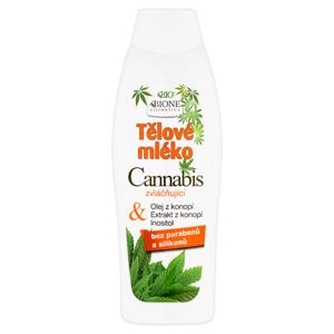 Bione Cosmetics Bio Cannabis zvláčňující tělové mléko 500ml