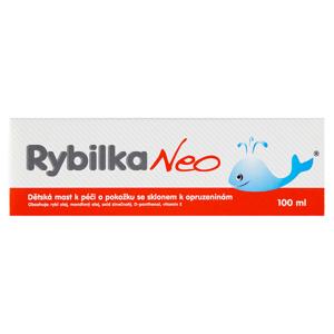 Rybilka Neo Dětská mast k péči o pokožku se sklonem k opruzeninám 100ml