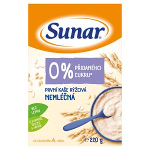 Sunar První kaše rýžová nemléčná 220g