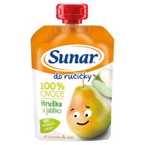 Sunar Do ručičky Kapsička hruška, jablko 100g
