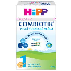 Počáteční mléčná kojenecká výživa HiPP 1 BIO Combiotik 500 g